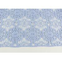 Guipure Dying Lace Fabric With Floral Water Soluble Lace Design For Dress Factory Manufactures