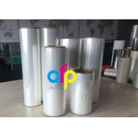 Soft Polyolefin Shrink Wrap Film , Transparent Polyolefin Heat Shrink Film Manufactures