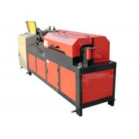 Automatic 6 - 12mm Rebar Straightening Machine 7.5kw Motor Power Cast Steel Clip Manufactures