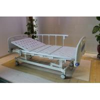 Height Adjustable Central Locking Three Motors Medical Hospital Bed with Bumpers Manufactures
