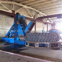 China 4m Large Waste Tyre Recycling Machine 20 - 100 Mesh Powder Size Low Energy Consumption on sale