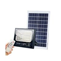 China Dustproof Solar Powered LED Flood Light 100W 200W For Outdoor Yard Garden on sale