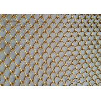 Woven Wire Mesh Application and Stainless Steel Wire Material metal chain curtains Manufactures