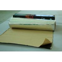 Vehicle Vibration Dampening Pads 2mm Thickness Silver Aluminium Foil Butyl Rubber Manufactures