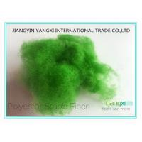 Bandera Green Regenerated Polyester Fiber1.5 Denier With Solution Dyed Manufactures