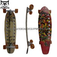 Longboard 34 INCH (86cm) canadian maple wood with 9 layers ABEC-11 High Speed bearings / Big Wheels 64*45mm Manufactures