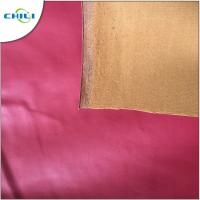 China Oilproof PVC Leather Fabric , Faux Leather Sheets Rectangle Contemporary on sale