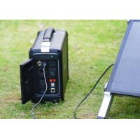 Waterproof  Laptop Charger System Portable Emergency Solar Generator Manufactures