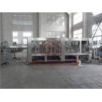 4 In 1 Combi Plastic Bottle Filling Machine Hot Juice Capping Labeling Packing Manufactures