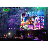 High Resolution P6 Stage Led Panels Module 384*192mm / SMD Curtian LED Display Manufactures