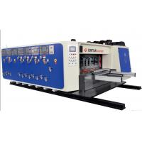 China High Precision Carton Making Machine 15kw - 30kw With 20crmnti Alloy Steel Transmission on sale