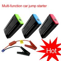 Buy cheap Mini car battery charger portable jump starter multi-function jump starter from wholesalers