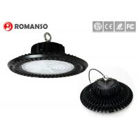 China SMD3030 80W 100W UFO Led High Bay , Led warehouse lighting lighter weight on sale