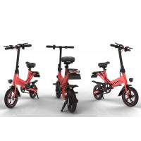 China Brushless Motor 400W Portable Folding Electric Bike Lithium Battery Power Supply for sale