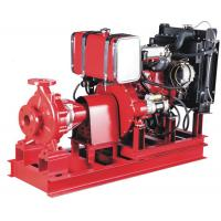 Cast Iron High pressure 50kw Diesel Engine water pump for fire fighting Single stage Stainless Manufactures