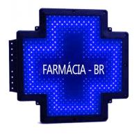 Fixed 50x50 Dot LED Pharmacy Cross Signs Display Electronic Pill Board Brazil Manufactures