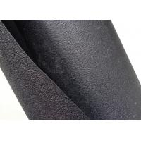 Textured HDPE Geomembrane Single Side Black Color For Cofferdam Construction Manufactures