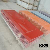 SZ factory acrylic stone composite wholesale solid surface sheet Manufactures