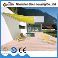 Balcony Full Cassette Awning Motorized with Wind Sensor Manufactures