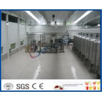 SUS304 10000LPD Industrial Yogurt Making Machine For Yogurt Making Process Manufactures