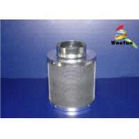 Stainless Steel Grow Room Carbon Filter Round For Greenhouse Ventilation Manufactures