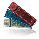 Promotional Plastic Style DE Translucent USB Flash Memory Disk Manufactures