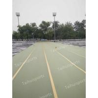 Gymnastic Foam Artificial Grass Shock Pads Water Drainage Three Layers Manufactures