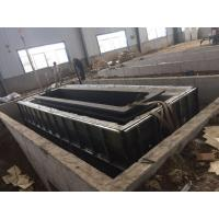 Structure Pipes Hot Dip Galvanizing Line With Low Carbon Steel / Customized Size Manufactures