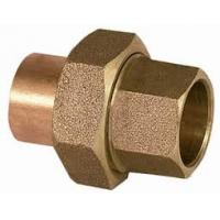 China Sintered Female Brass Plumbing Fittings , Equal Shape Plumbing Hose Fittings on sale