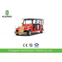 Chinese Red Electric Ancient Car 5KW AC Motor Classic Sightseeing Vehicle Manufactures