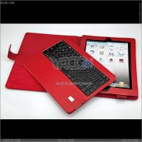 Detachable Bluetooth Keyboard Leather Case for The New iPad 3 P-iPAD3CASE024 Manufactures