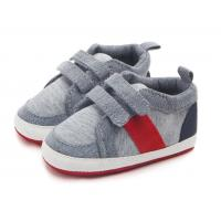 China new style baby boy sport walking shoes two straps velcro design easy put on and take off on sale