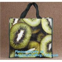 China Fashion pp non woven shopping bag,grocery laminated non woven bag,Logo Printed Shopping Bag,Tote Bags,fabric Woven Bag on sale