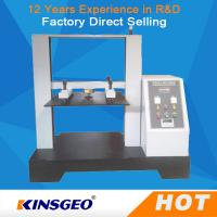 China 0.5~500mm 5T Computer Container Carton Compression Pressure Testing Equipment 1/250000 Resolution on sale