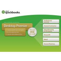 Genuine QuickBooks Desktop Premier 2018 with Industry Edition Small Business Accounting Software 1-Year Subscription Manufactures