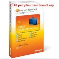 Microsoft Office 2010 Product Key Card For Microsoft Office Home & Business 2010 Manufactures