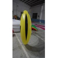 1.2m long Fruit Shaped Balloons , Digital Printing Inflatable Banana Manufactures