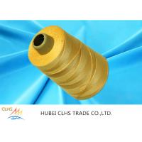 Buy cheap Dyed Core Spun Polyester Sewing Thread 20 / 2 20 / 3 , Golden Textured Polyester from wholesalers