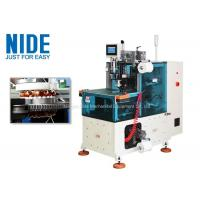 Compression Middle Electric Motor Winding lacing Machine With Touch Screen Control Manufactures