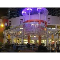 Heavy Duty Aluminum Stage Truss System With PVC Material Tent , stage lighting truss Manufactures