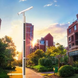 China Remote Monitoring Column Solar Powered Road Lights , Motion Sensor Street Lights 8 Meters on sale
