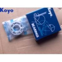 Flanged Gcr15 RS KOYO Bearing 6208 , Deep Groove Ball Bearing Manufactures