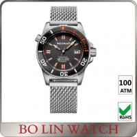 Professional Waterproof Stainless Steel Dive Watches For Men High Super Luminous Manufactures