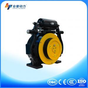 China WTD1 model 320kg machine room & machine roomless home lift  machine elevator parts on sale