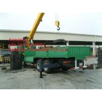 10.5 T.M Max Lifting Moment Truck Mounted Crane Hydraulic  5 Ton SQ5ZK3Q Manufactures