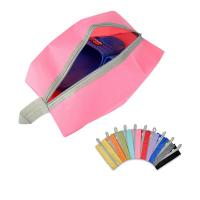 Zipper Closure Shoe Storage Pouches Durable Multifunctional Polyester Fabric Manufactures