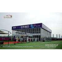Two Storey Cube Structure  outdoor party tent  for outdoor temporary Wedding Manufactures