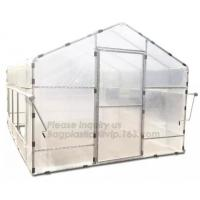 China Agricultural Glass Green House for Commerical,Pop up Greenhouse Eco-friendly Fiberglass Poles Overlong Cover 98x49x53 on sale