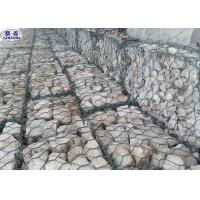 Acid Resisting Galvanized Gabion Baskets For Water Soil Protection Manufactures