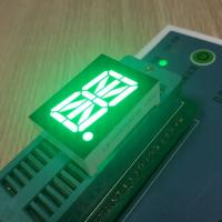"Pure Green 0.8"" 16 Segment Alphanumeric Display High Luminous Intensity Fit Instrument Panel Manufactures"